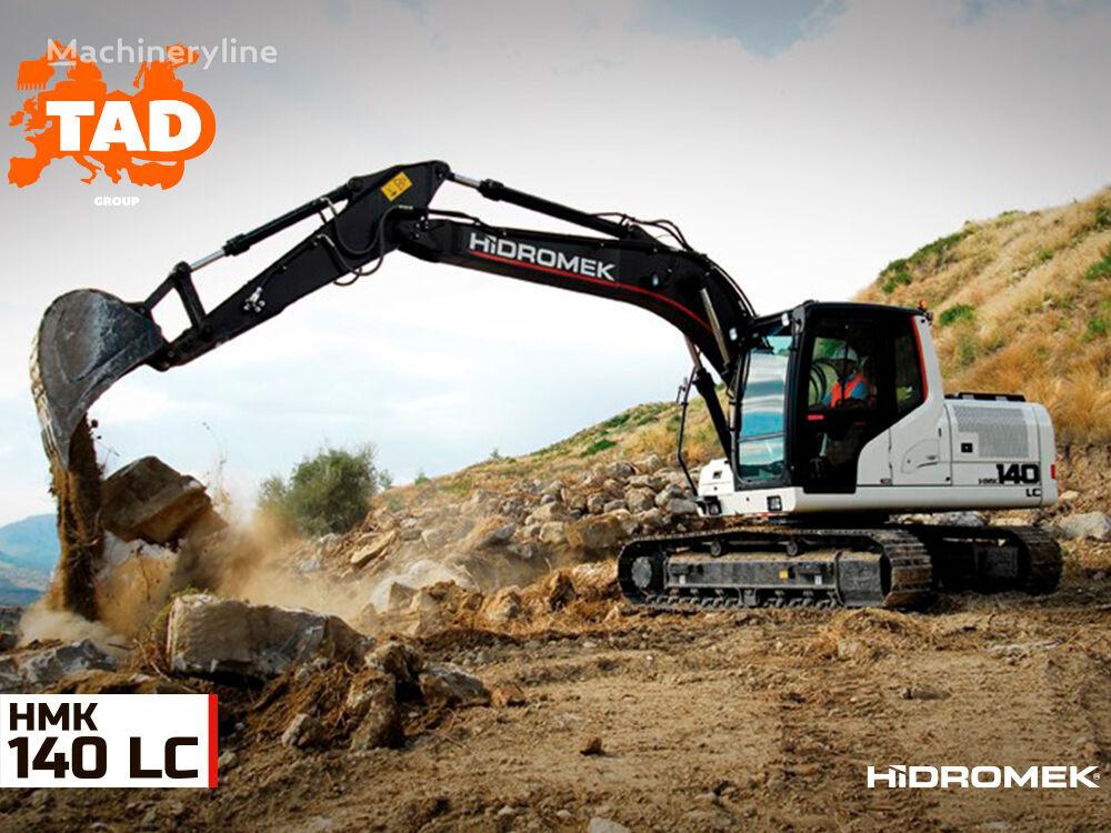 new HIDROMEK  HMK 140LC tracked excavator