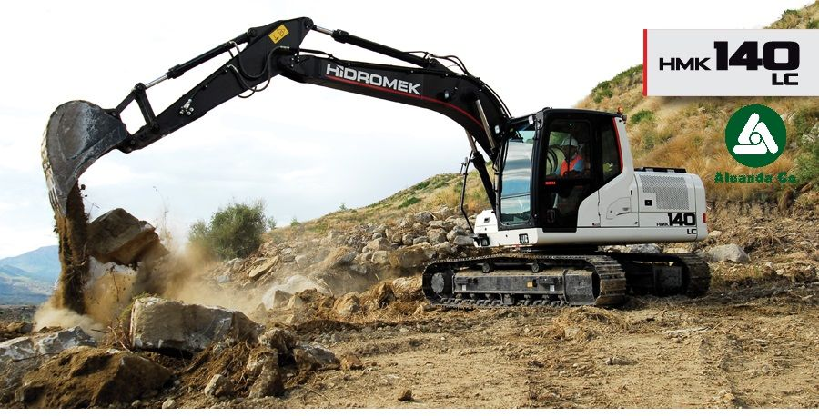 new HIDROMEK  HMK 140LC (0676906868, Dmitro) tracked excavator
