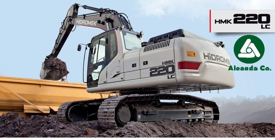 new HIDROMEK  HMK 220 LC (0676906868, Dmitro) tracked excavator