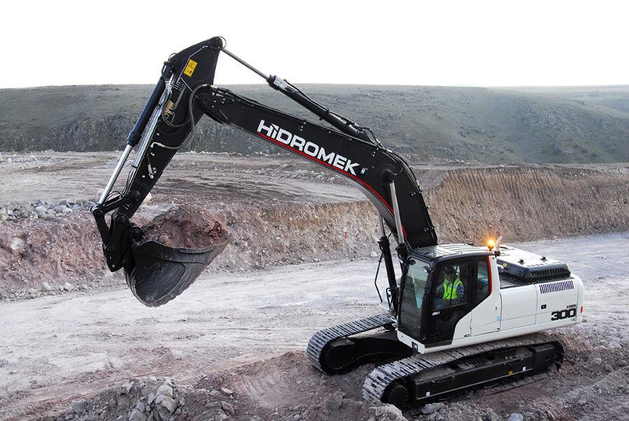 new HIDROMEK  HMK 300LC tracked excavator