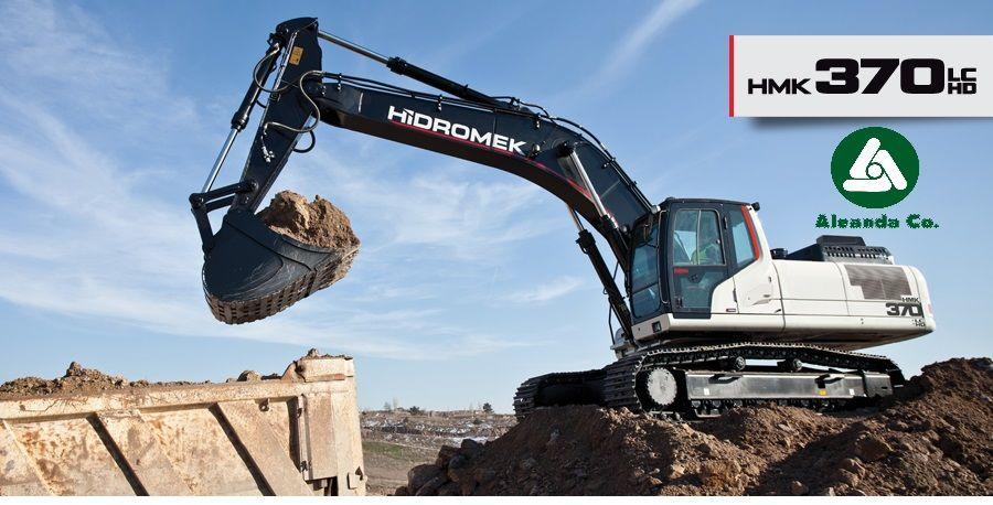 new HIDROMEK  HMK 370 LC HD (0676906868, Dmitro) tracked excavator