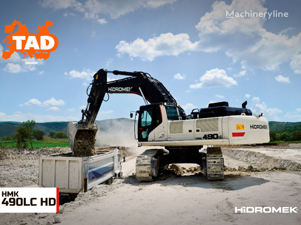new HIDROMEK  HMK 490LC HD tracked excavator