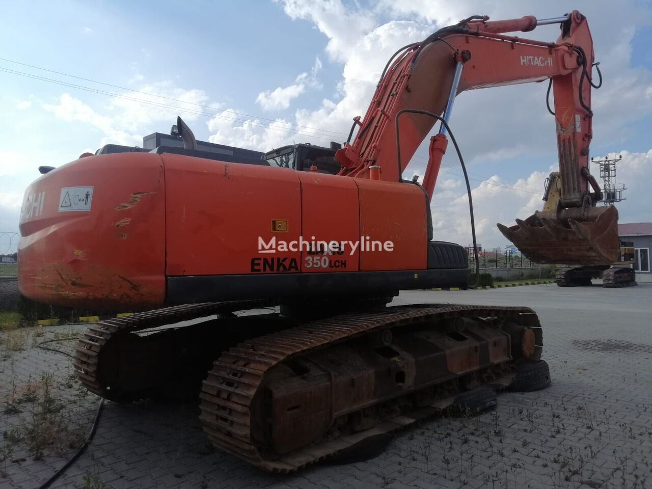 HITACHI 2008 MODEL ZX350LCH-3 tracked excavator