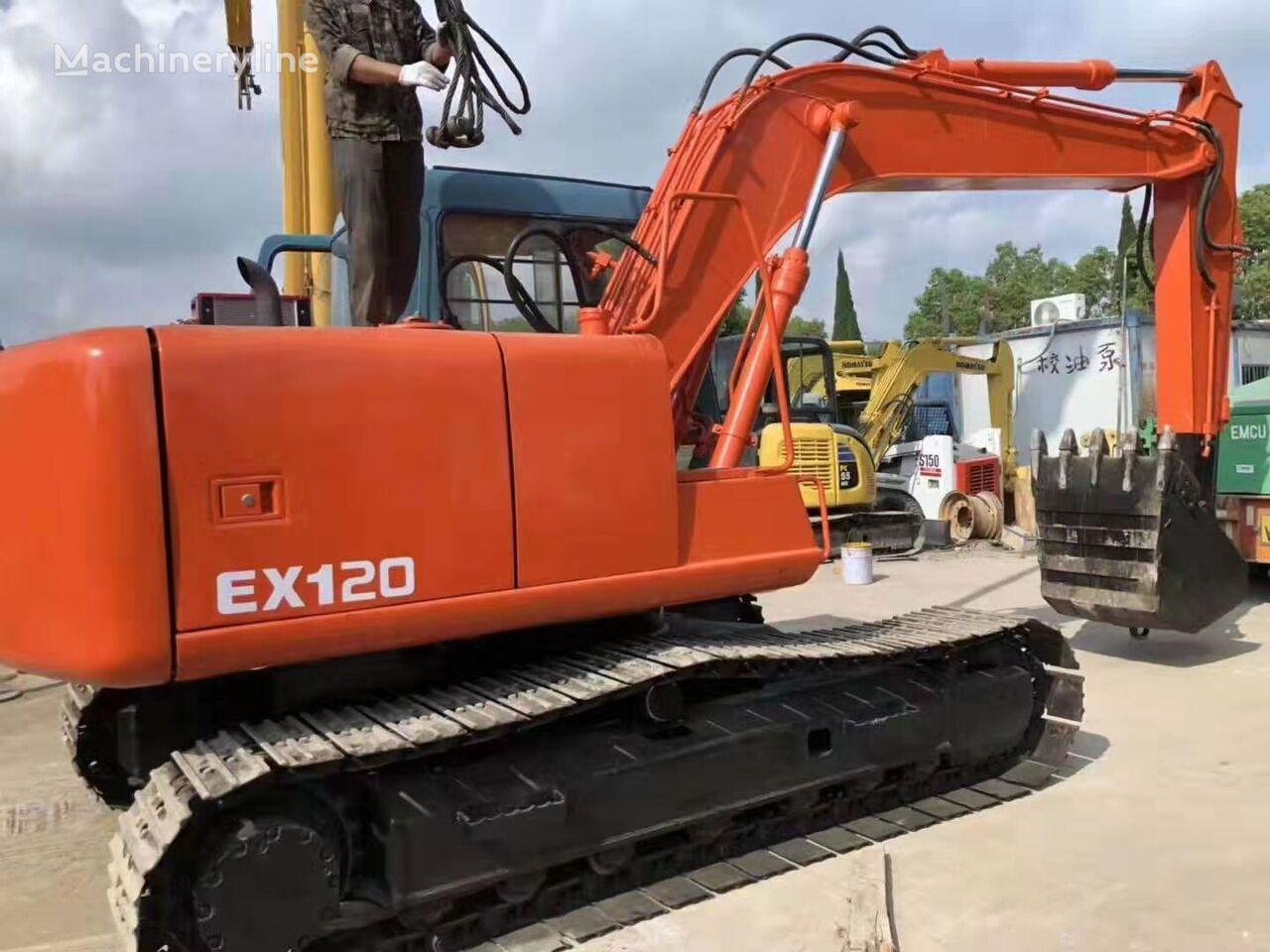 HITACHI EX120  tracked excavator