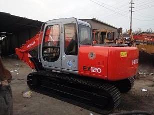 HITACHI EX120-5 tracked excavator