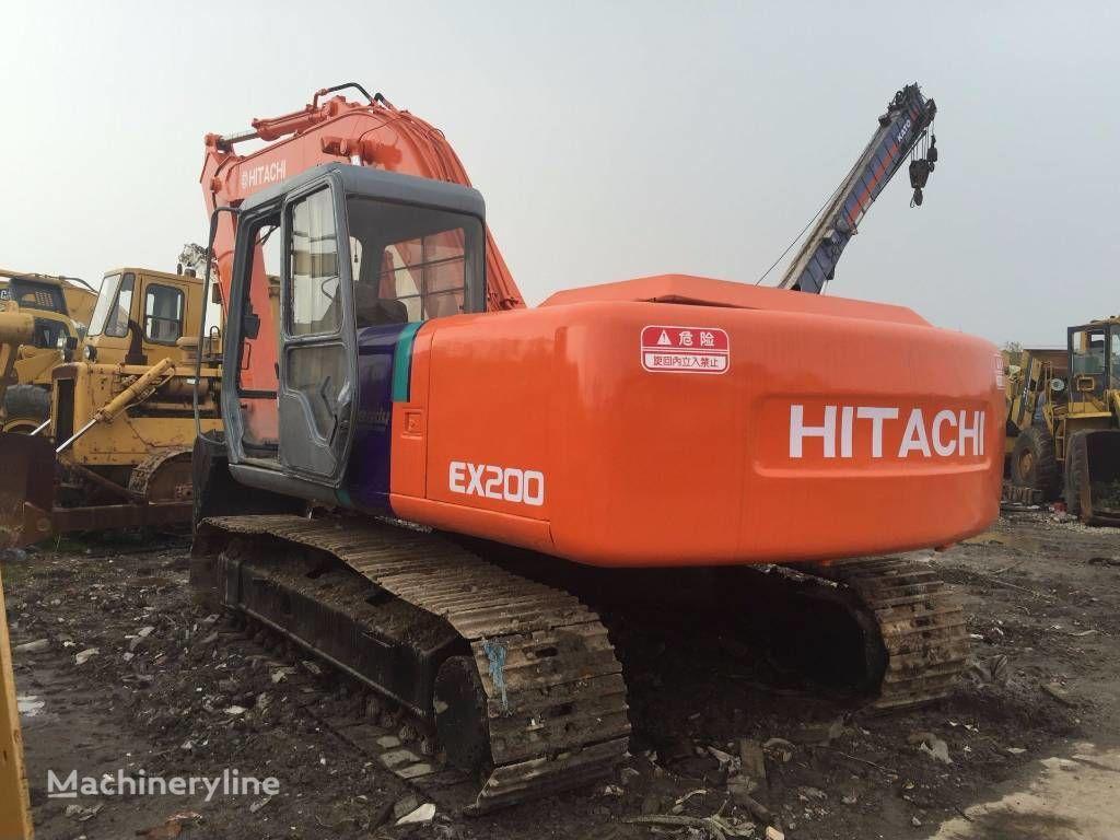 HITACHI EX200 tracked excavator