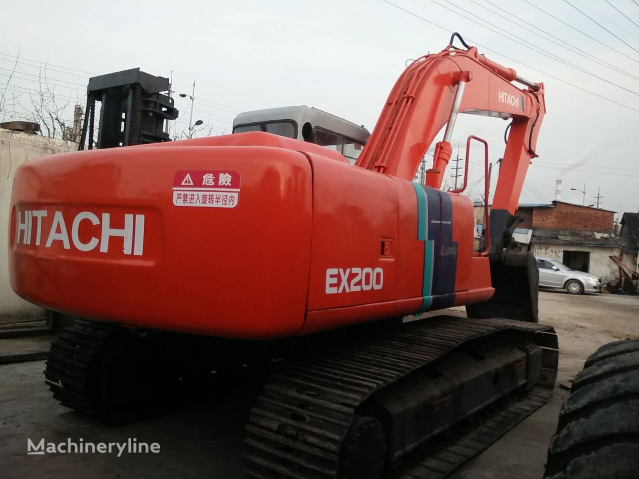 HITACHI EX200-2 tracked excavator