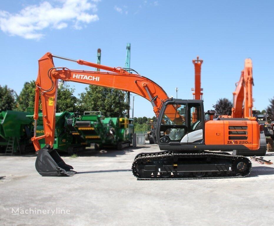 new HITACHI ZX 220LC-Gl tracked excavator