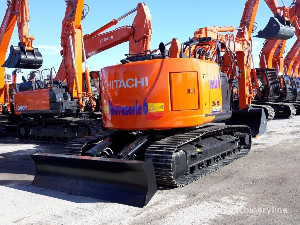 new HITACHI ZX 225 USLC-6 tracked excavator