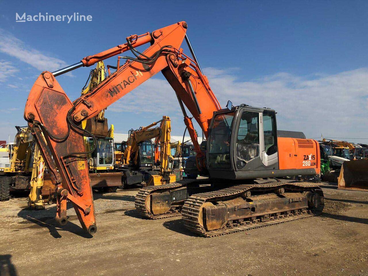 HITACHI ZX 280 LCN-3 tracked excavator