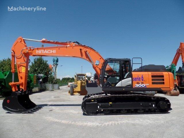 new HITACHI ZX 300LCN-6 tracked excavator