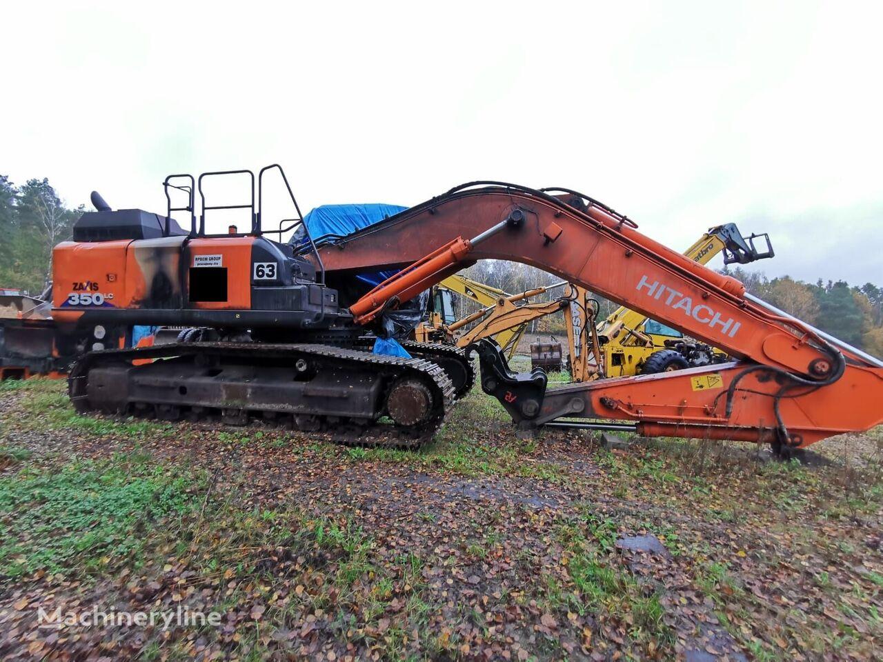 HITACHI ZX 350 LC-6 tracked excavator