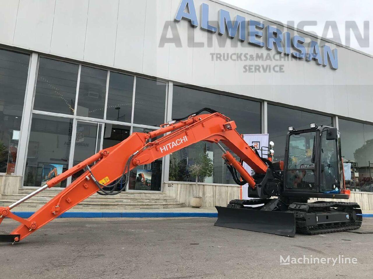 HITACHI ZX 85USB-5A. EXCAVADORA DE CADENAS DE GOMA tracked excavator