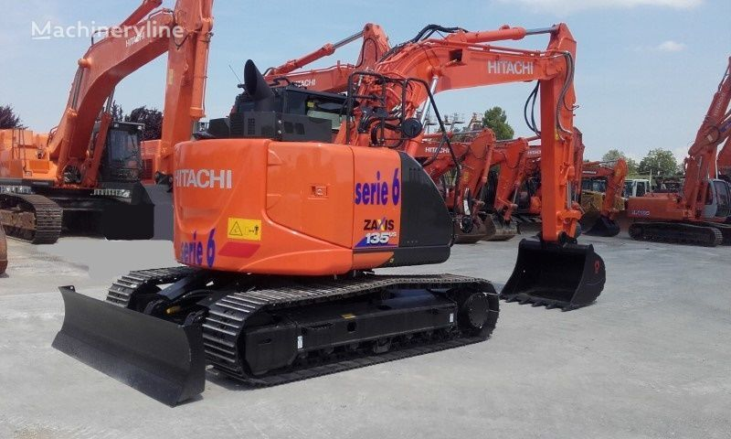 new HITACHI ZX135US-6 tracked excavator