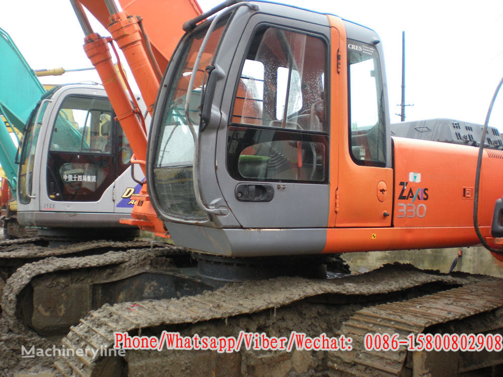 HITACHI ZX330 tracked excavator for parts