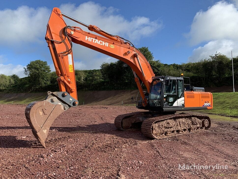HITACHI ZX350LC-6, Only 1088 Hours tracked excavator