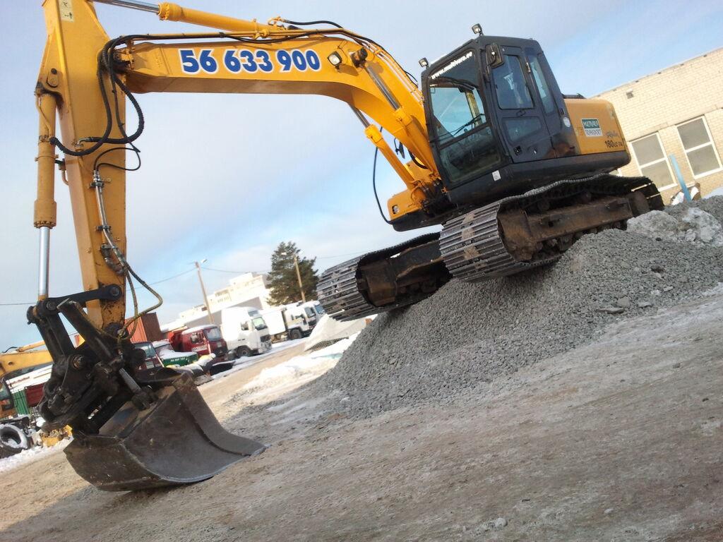 HYUNDAI Hyundai 180 LC-8 tracked excavator