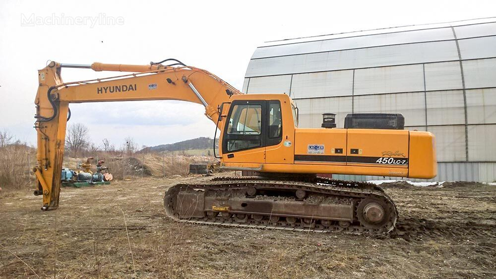 HYUNDAI R450LC-7 tracked excavator