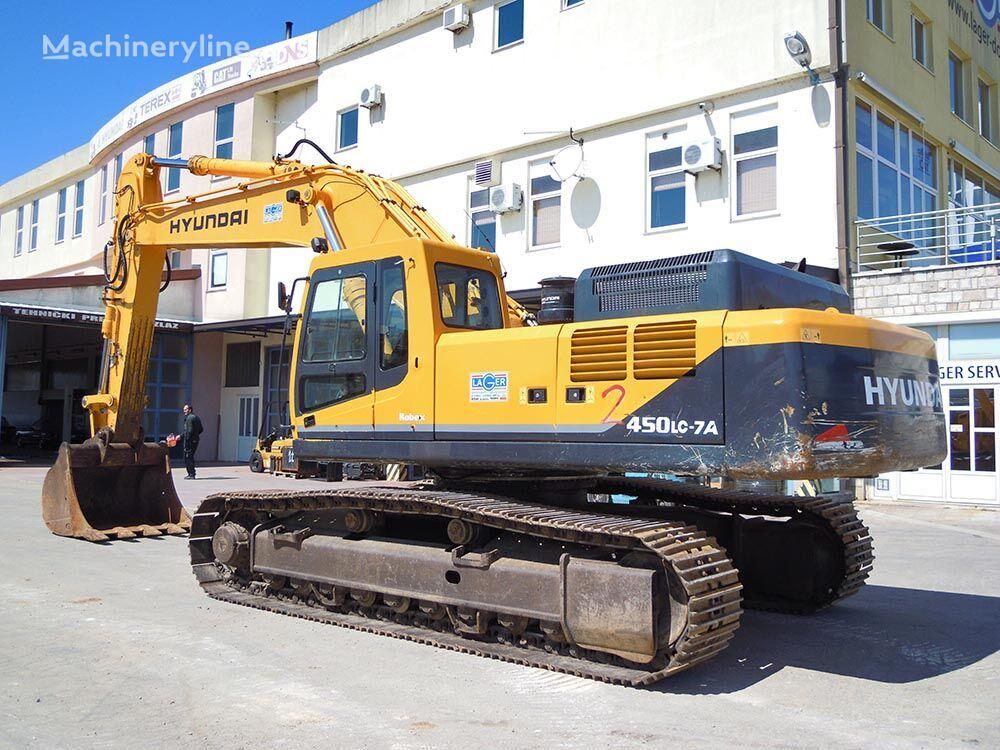 HYUNDAI R450LC-7A tracked excavator