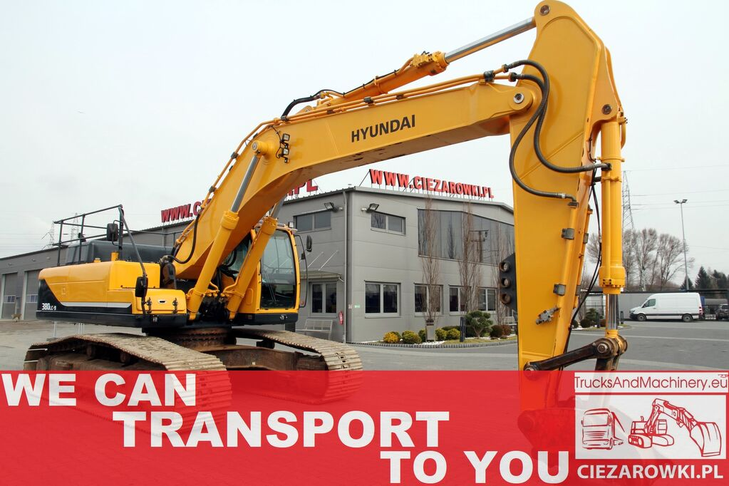 HYUNDAI ROBEX 380LC-9A / 4,600MTH!!! 37t / quick / track 700mm / LIKE NE tracked excavator