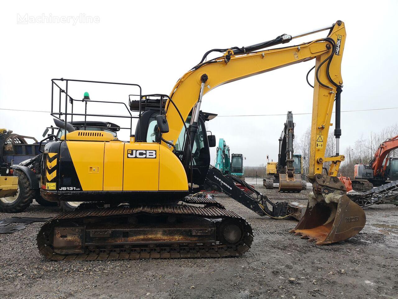 JCB 131 tracked excavator