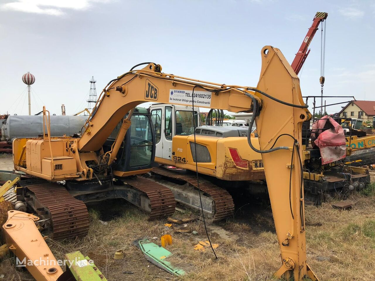 JCB JS 103  tracked excavator for parts