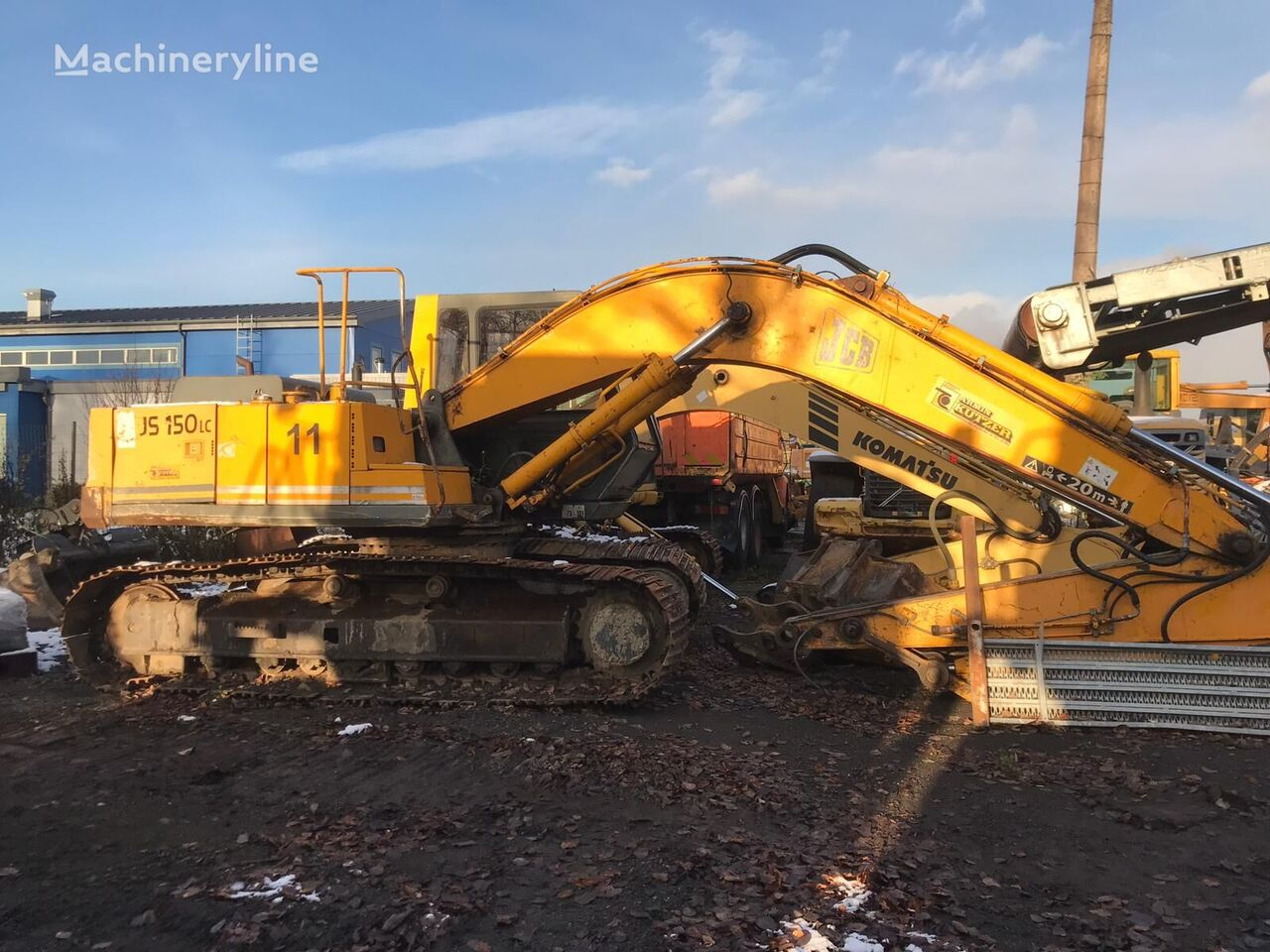 JCB JS 150 LC tracked excavator