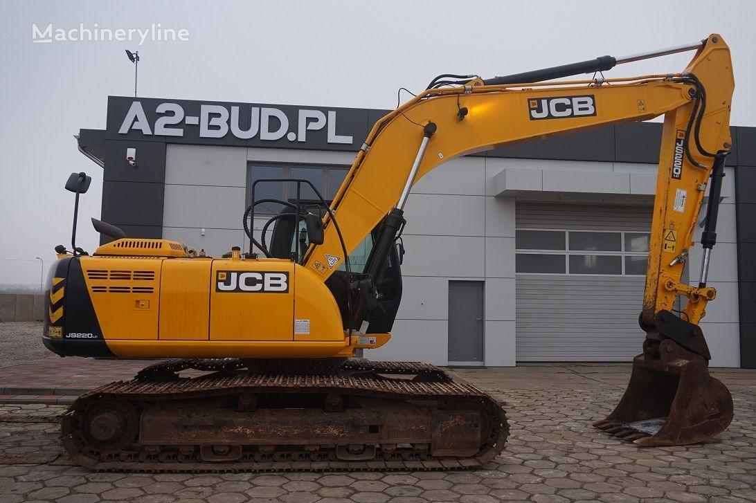 JCB JS 220 tracked excavator