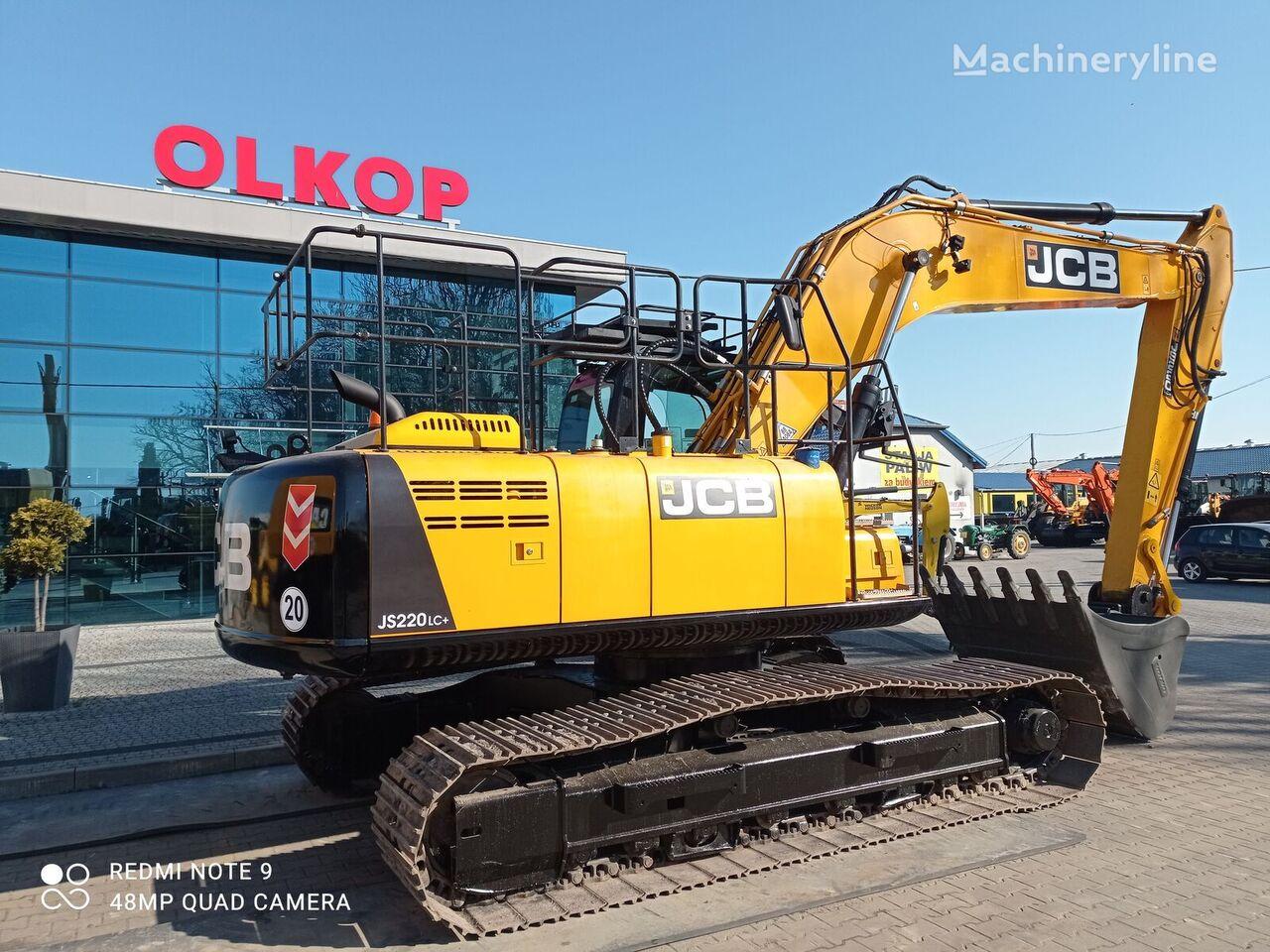 JCB JS 220 LC+ tracked excavator