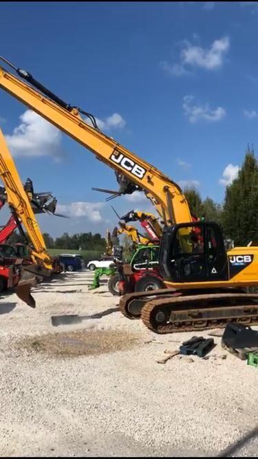 JCB JS 220 LC SROChNO!Vylet strely 18m! tracked excavator