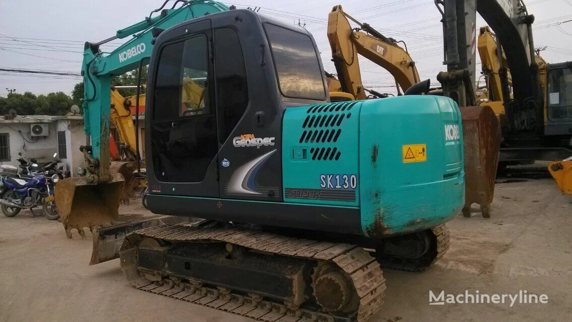 KOBELCO SK130 tracked excavator