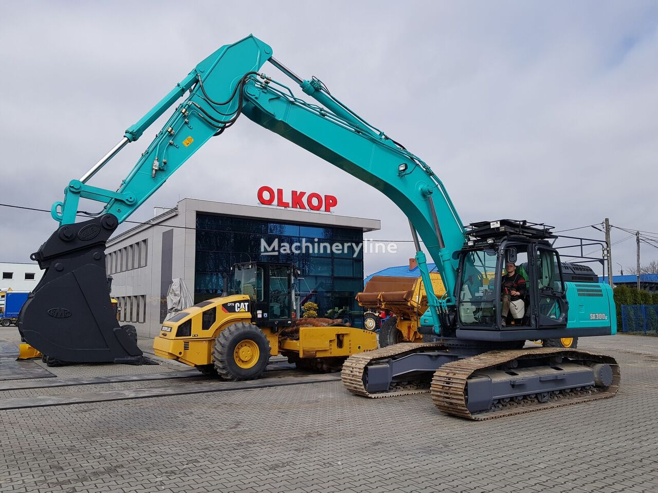 KOBELCO SK300LC-10 LOW HOURS !!! REVERSE CAMERA /QUICK COUPLER / tracked excavator