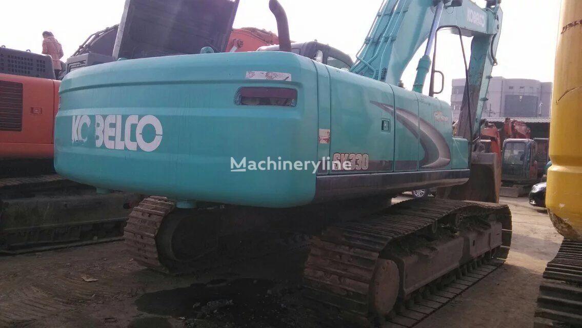 KOBELCO SK330-6 tracked excavator