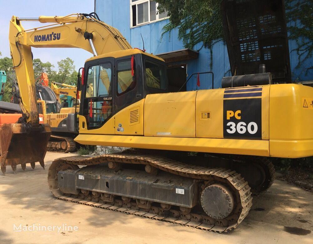 KOMATSU 360-7 tracked excavator