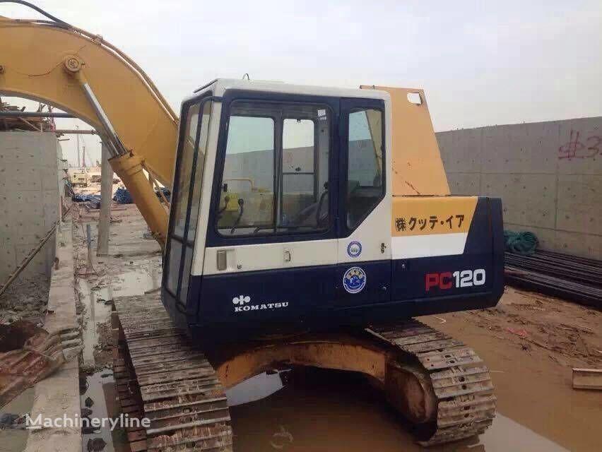 KOMATSU PC120-5 tracked excavator