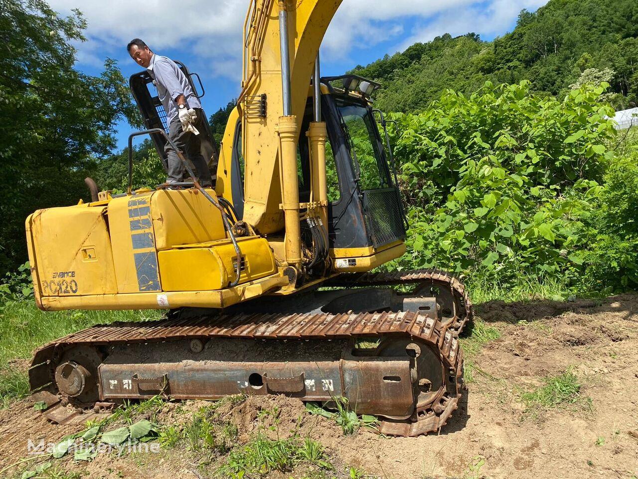 KOMATSU PC120-6EO (Grapple ) tracked excavator