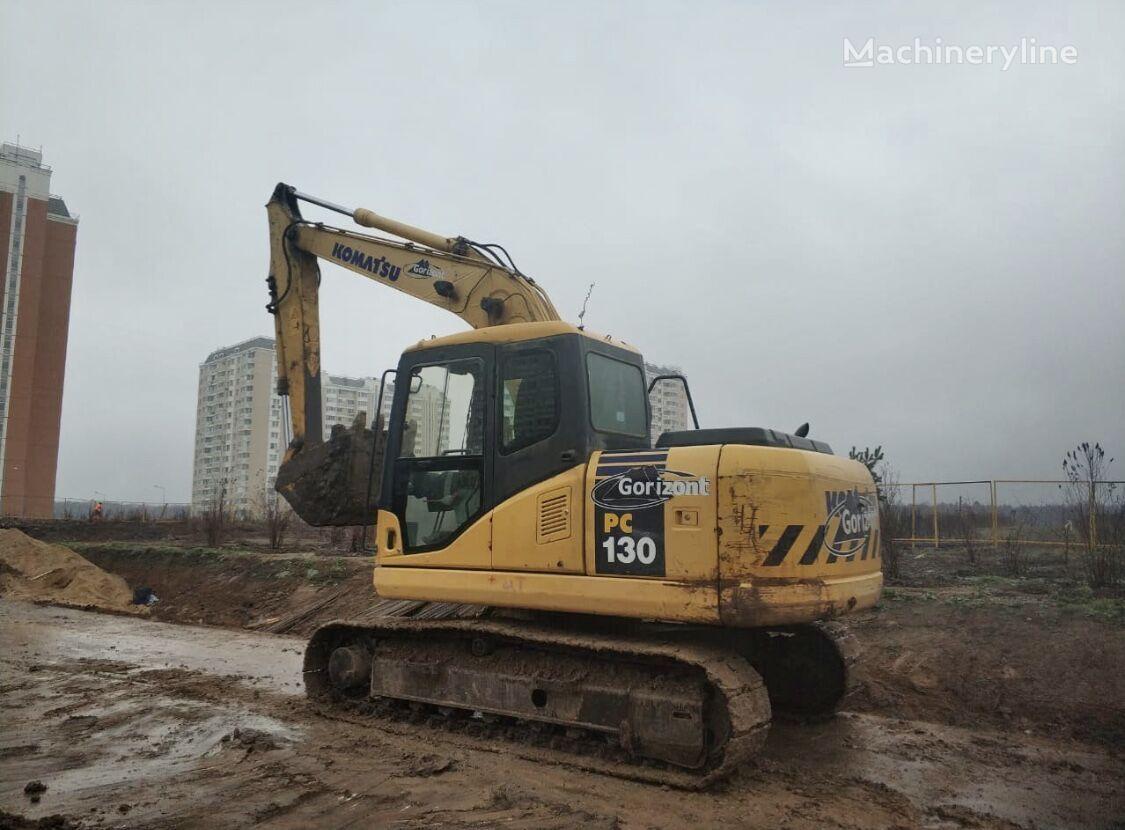 KOMATSU PC130 tracked excavator