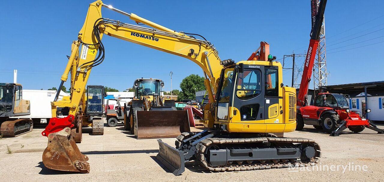 KOMATSU PC138 tracked excavator