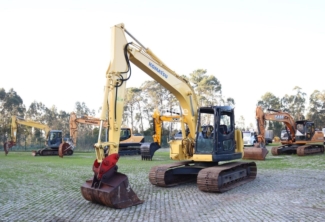 KOMATSU PC138US tracked excavator