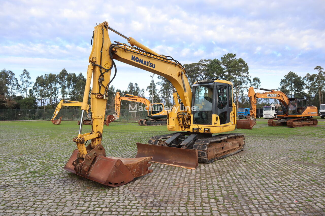 KOMATSU PC138US-8 tracked excavator