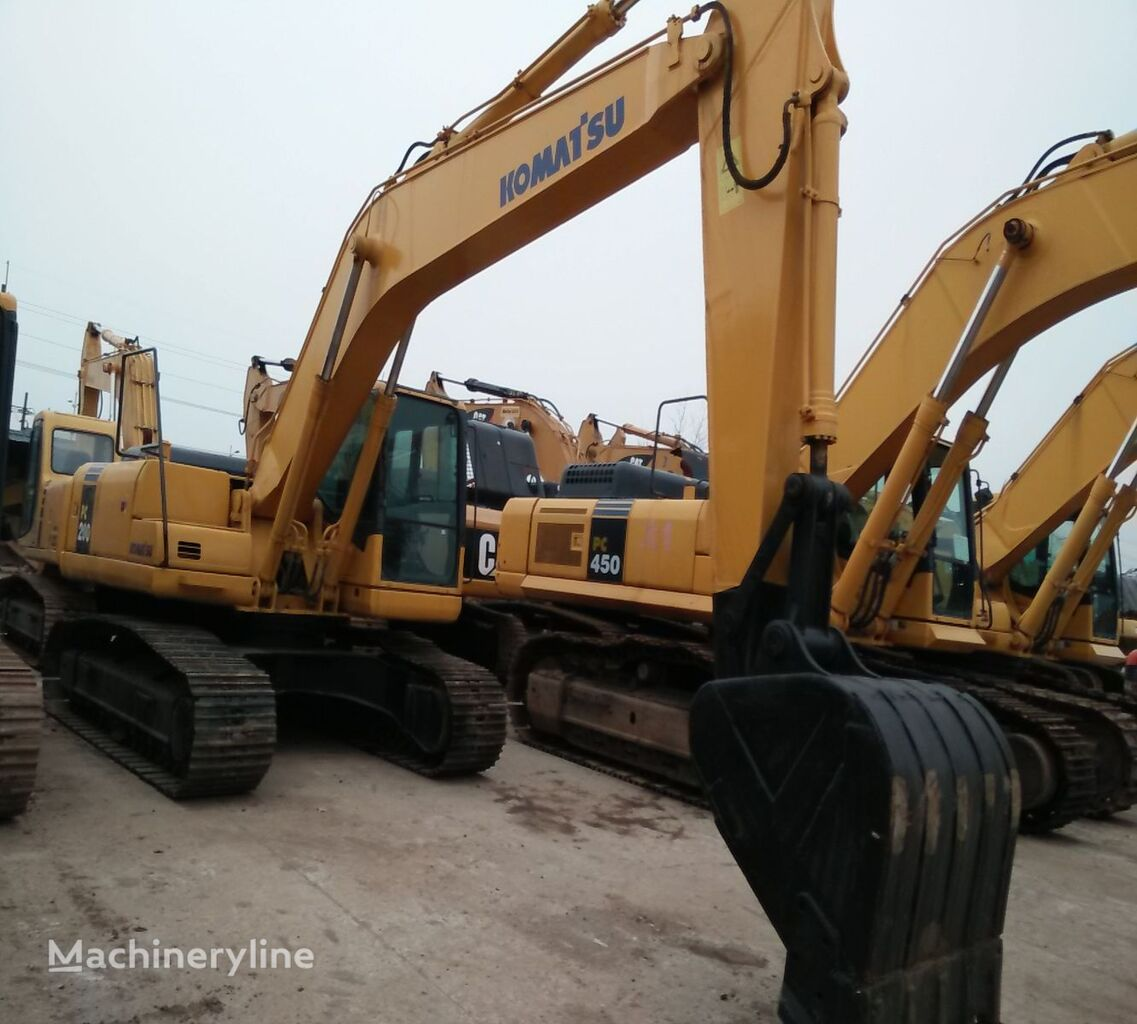 KOMATSU PC200-7 tracked excavator