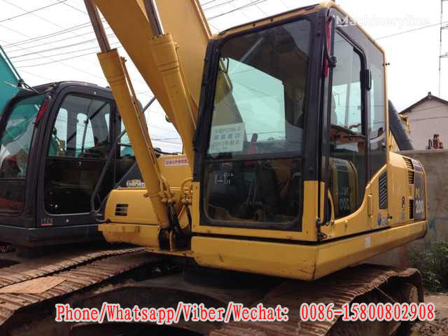 KOMATSU PC200-8 tracked excavator for parts