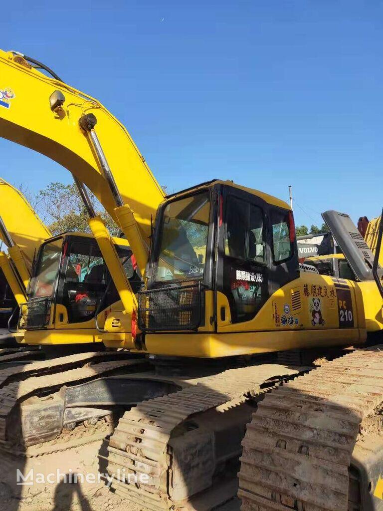 KOMATSU PC210 tracked excavator