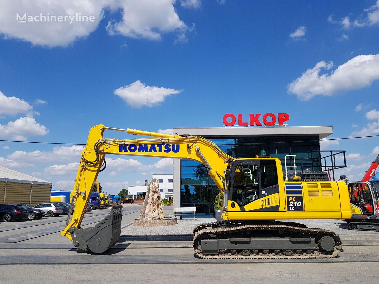 KOMATSU PC210-11 /LOW HOURS tracked excavator