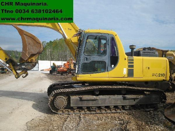 KOMATSU PC210-6 tracked excavator