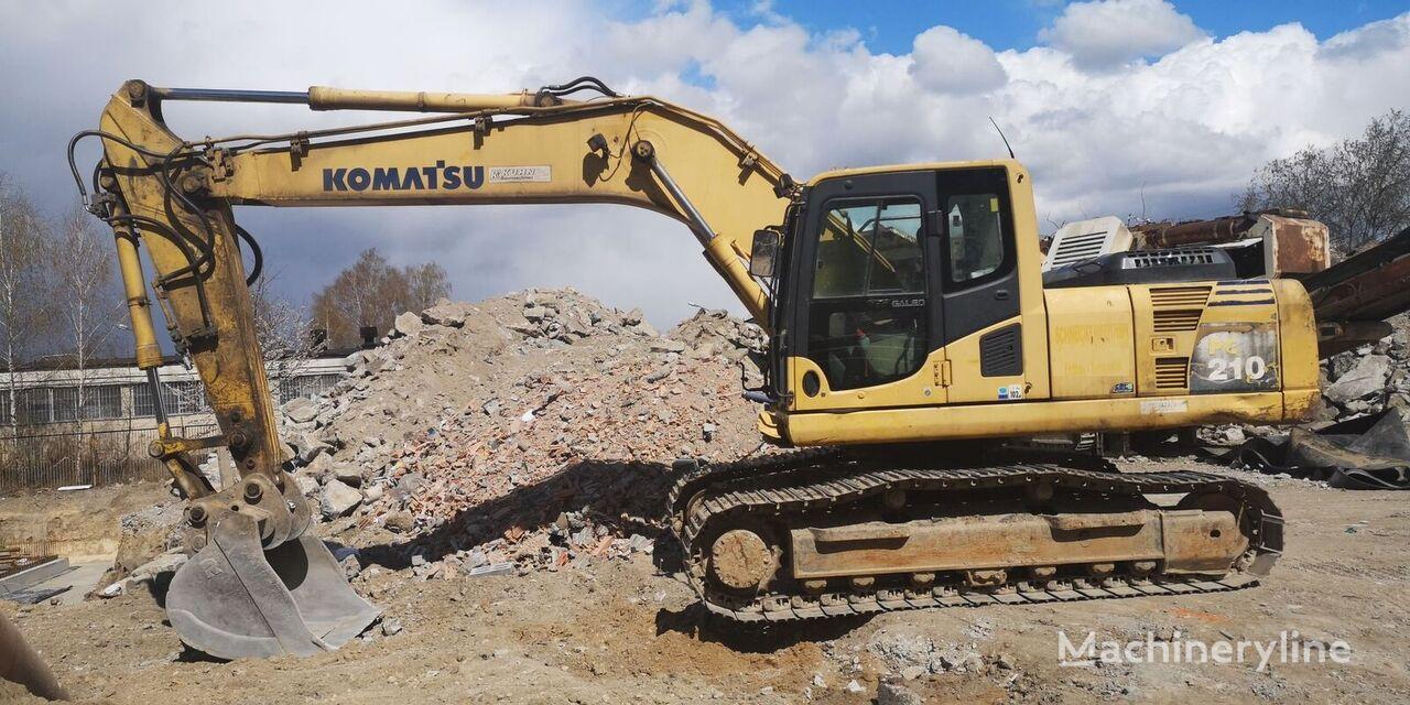KOMATSU PC210-8 tracked excavator