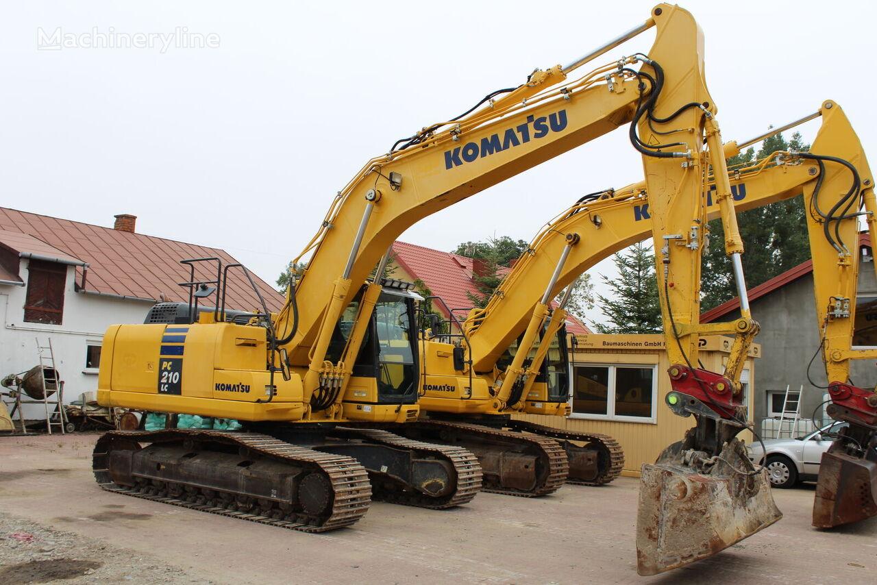 KOMATSU PC210 LC - 10 tracked excavator