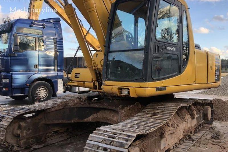 KOMATSU PC210LC tracked excavator