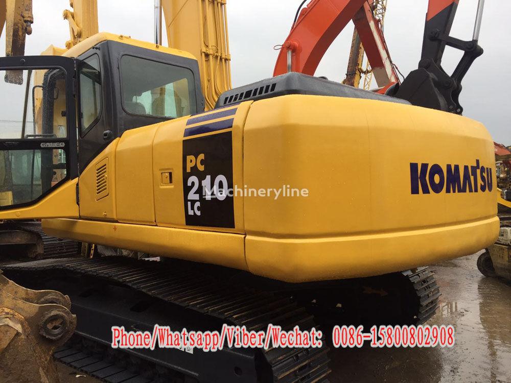 KOMATSU PC210LC-7 tracked excavator for parts