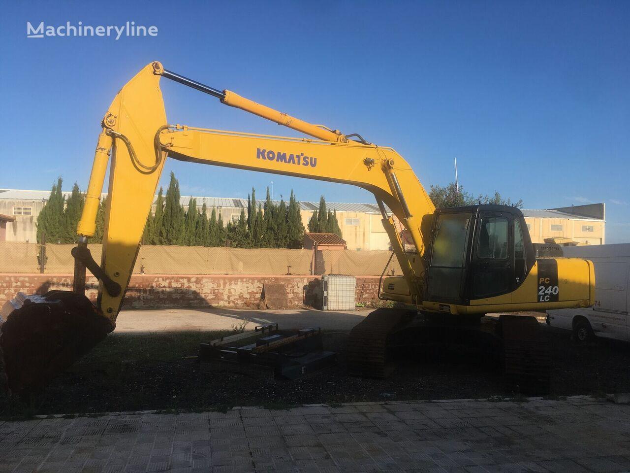 KOMATSU PC240 tracked excavator